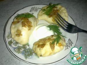 Рецепт Вареники картофельно-капустные на пару