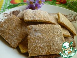 Рецепт Тыквенно-ржаное хрустящее печенье