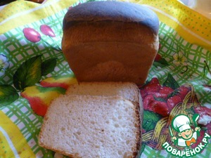 Рецепт Белый хлеб для бутербродов