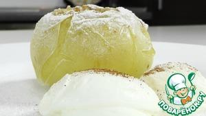 Рецепт Антоновка запеченная с сахаром и корицей