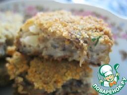 Рецепт Котлеты грибные с гречкой