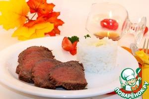 Рецепт Говядина по-бразильски с рисом