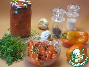 Рецепт Перец с чесноком
