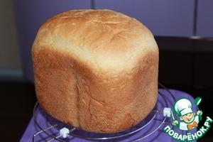 Рецепт Хлеб молочный (для хлебопечки)