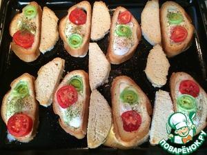 Рецепт Бутерброд: Жаренные яйца в хлебе