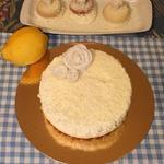 """Торт-суфле """"Лимонное облако"""""""