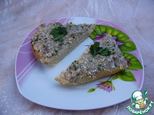 намазка на бутерброды рецепты с фото