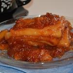 Десертные крепы с яблочно-брусничным соусом