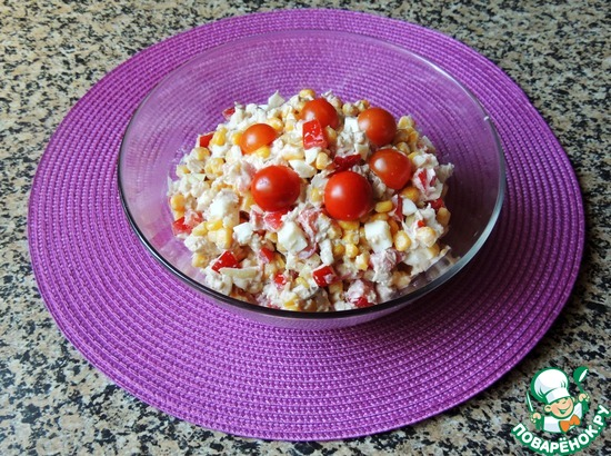 Рецепты салатов от поваренок ру