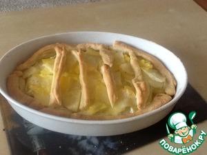 Как приготовить рецепт с фото Картофельный пирог с сыром