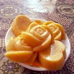 Аппетитный апельсиновый пудинг