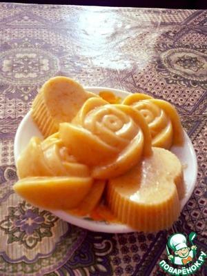 Рецепт Аппетитный апельсиновый пудинг