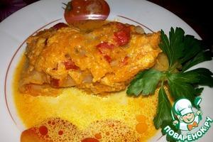 Рецепт Аппетитные голубчики в соусе (в мультиварке)