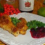 Куриные крылышки под ягодно-цитрусовым соусом