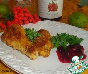 Рецепт Куриные крылышки под ягодно-цитрусовым соусом