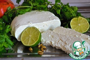 Рецепт Сыр панир