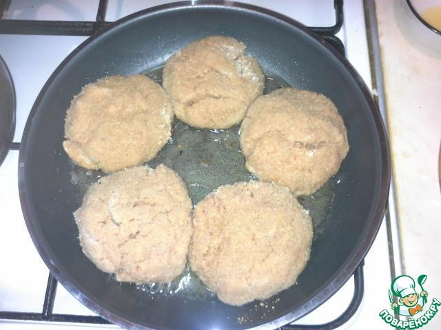 Хлебные котлеты рецепт с пошагово