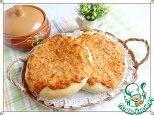 Рецепт Сырно-творожные лепешки с паприкой, орегано и луком