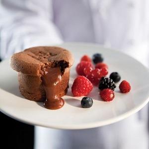 """Рецепт Кексы """"Шоколадный пудинг"""""""