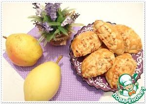 Рецепт Медовый назук с орехами и грушей