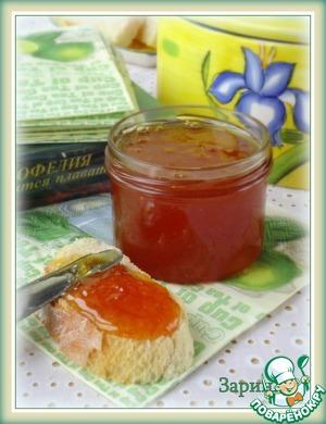 Рецепт Домашний апельсиновый джем
