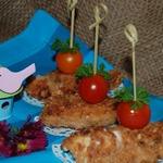 Куриные кебабы с клюквенным соусом Darbo