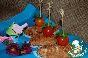 Рецепт Куриные кебабы с клюквенным соусом Darbo
