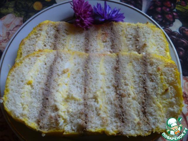 Хлебный торт рецепт с фото