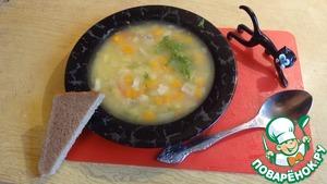 Рецепт Суп из желтой чечевицы