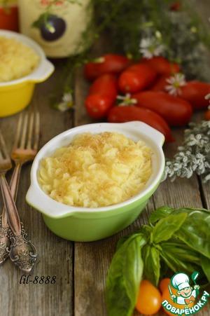 Рецепт Запеканка из говядины с картофелем и сливовым соусом