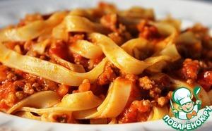 Рецепт Как приготовить настоящий соус болоньезе