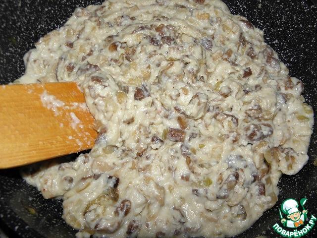 Рецепт грибного жульена с пошагово