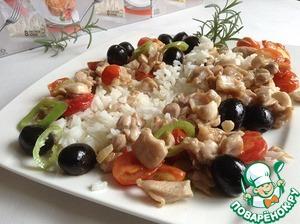 Рецепт Кролик за 3 минуты по-средиземноморски