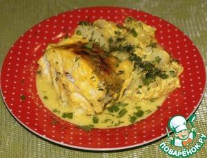 Рецепт Рыбка в кефирно-имбирном маринаде