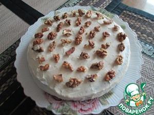 Рецепт Шоколадный торт со сметанным кремом