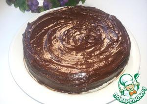 """Рецепт Шоколадный торт-пирожное """"Коньячный трюфель"""" (в мультиварке)"""