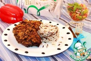 """Рецепт Карбонад из баранины в панировке """"Пангритата"""""""