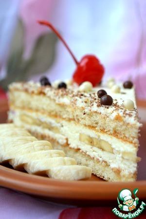 """Рецепт Бисквитный торт """"Даниссимо"""""""