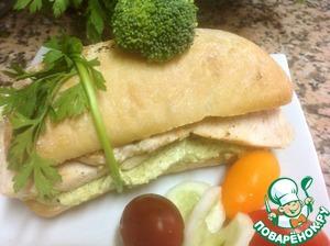 Рецепт Боката с индейкой и брокколи