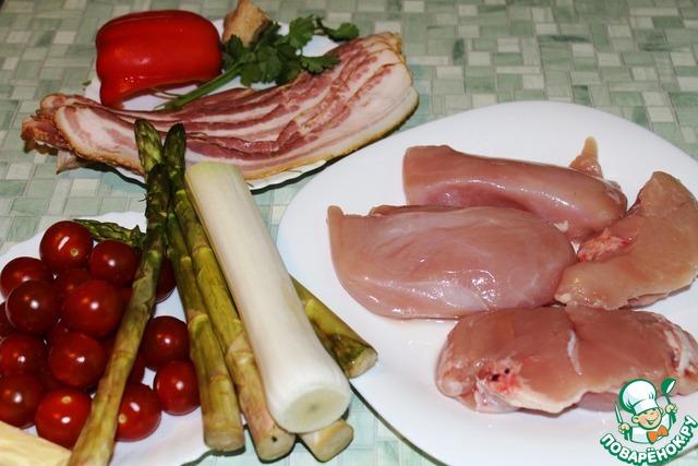 Картошка тушеная с мясом и овощами в духовке рецепт с фото