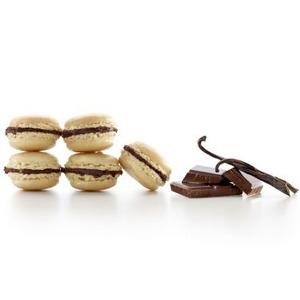 Рецепт Пирожное Макарон с шоколадной начинкой