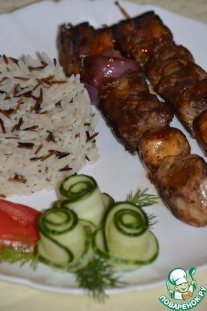 Рецепт Свиные кебабы