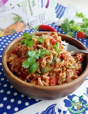 Рецепт Рисовое рагу с острым фаршем