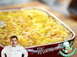 Рецепт Отменная картофельная запеканка с рыбой