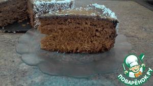 Рецепт Медово-бисквитный торт