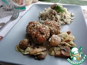 Рецепт Котлеты из свинины с капустой по-тайски