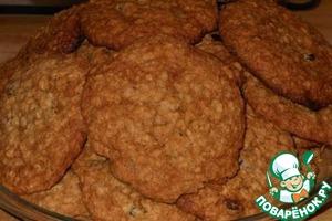 Рецепт Морковное печенье с изюмом