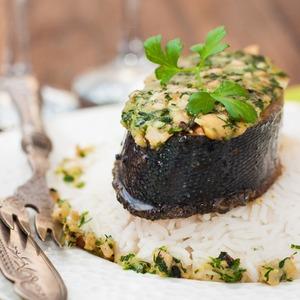 Рецепт Рыба под ароматным маслом