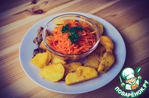 Рецепт Морковча-морковь по-корейски