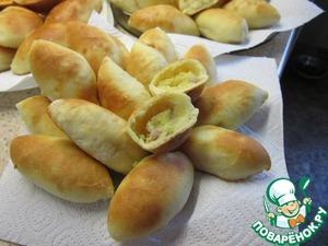 Рецепт Пирожки с картофельной начинкой от моей бабушки (прабабушки, прапрабабушки...)